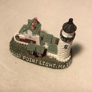 Pemaquid Point Lighthouse Maine Miniature Figure